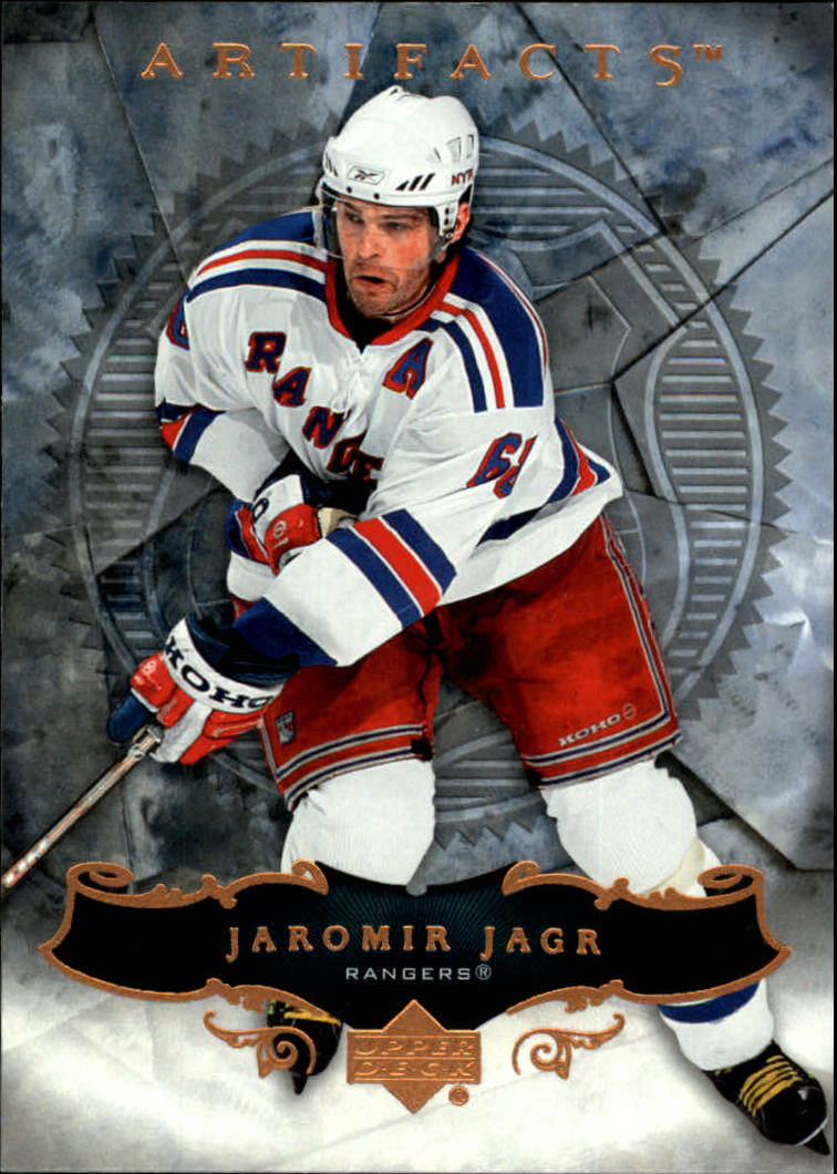 2006-07 Artifacts #36 Jaromir Jagr