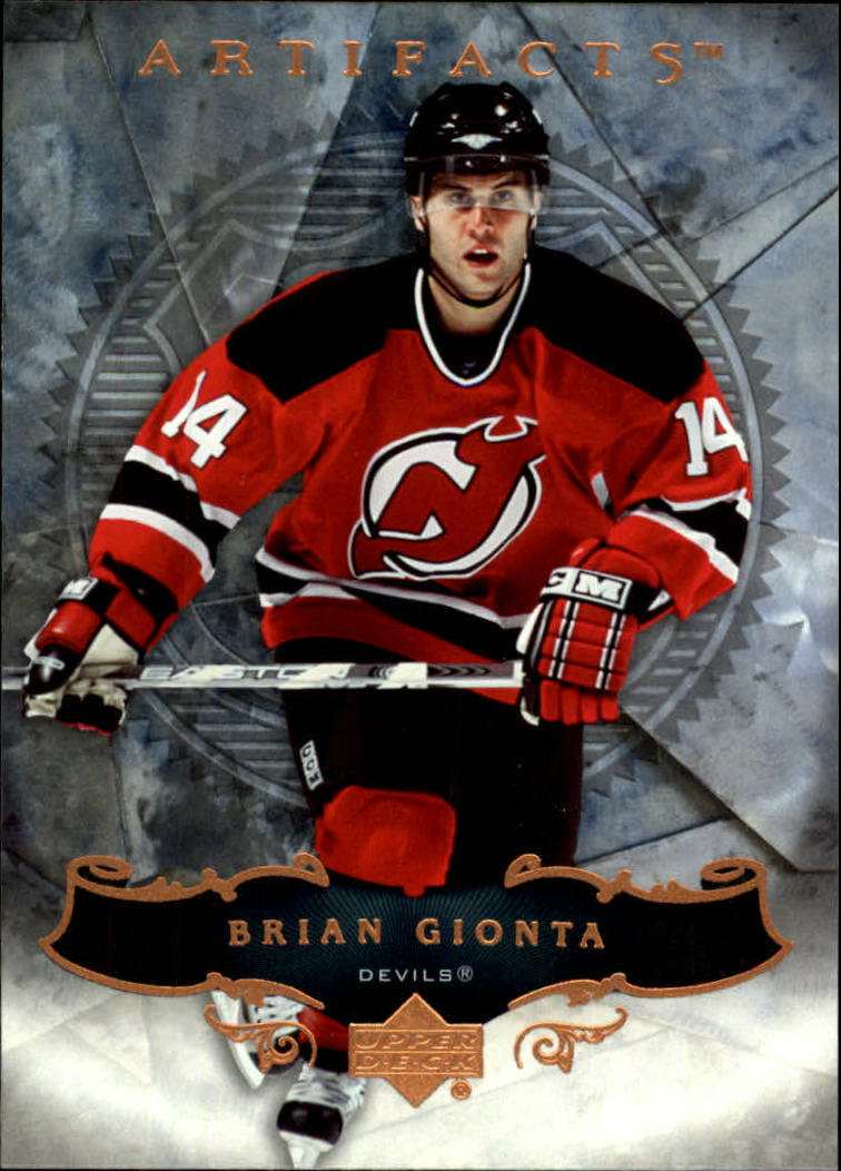 2006-07 Artifacts #44 Brian Gionta
