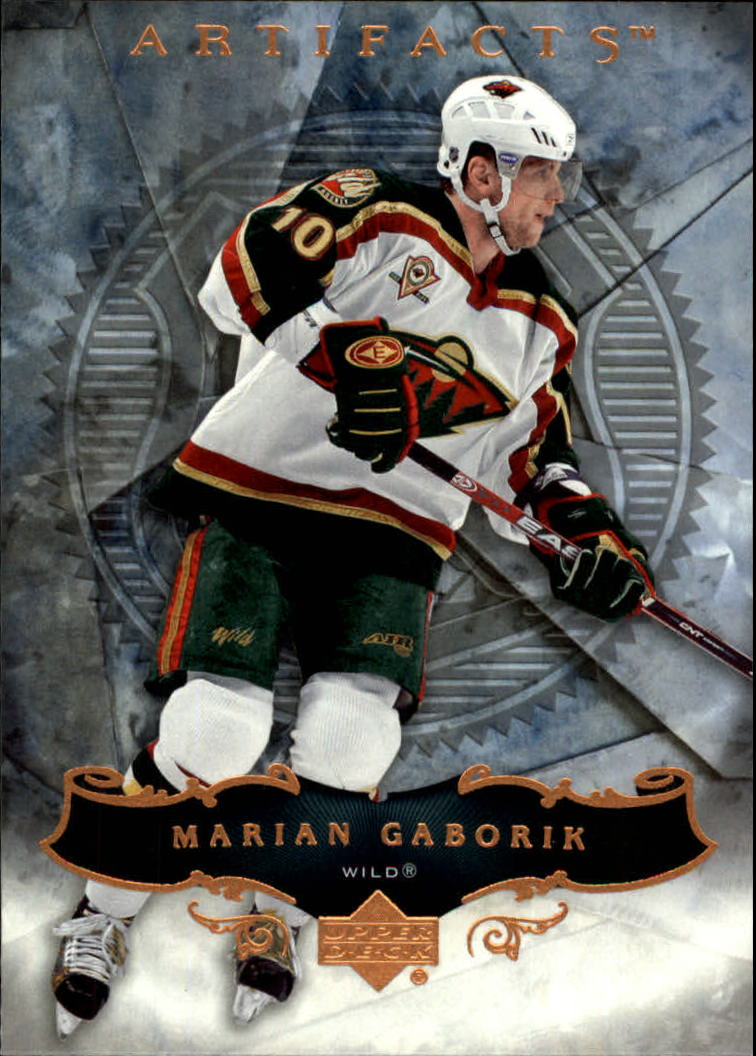 2006-07 Artifacts #52 Marian Gaborik