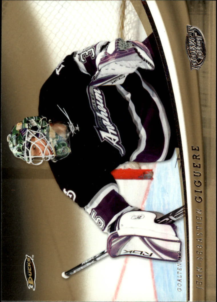 2006-07 Upper Deck Power Play #1 Jean-Sebastien Giguere