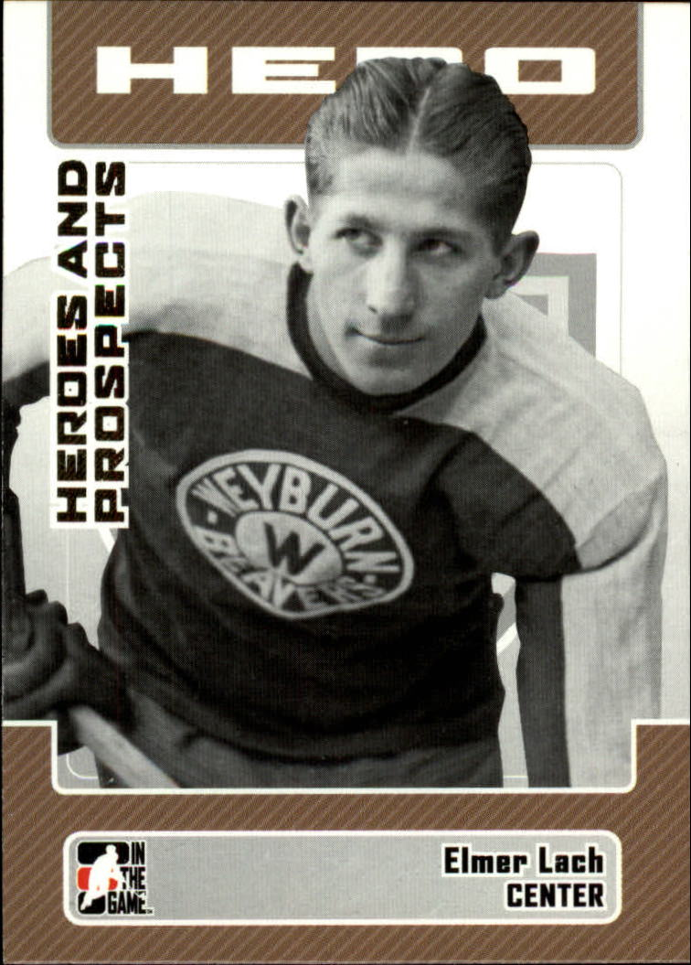2006-07 ITG Heroes and Prospects #1 Elmer Lach