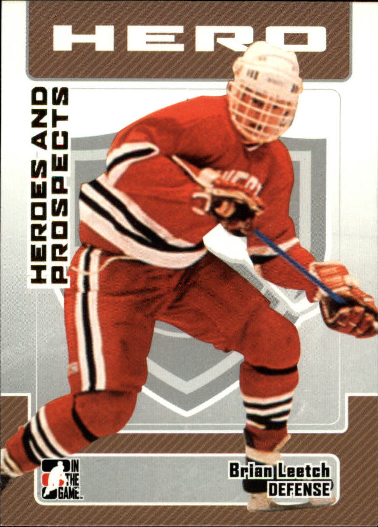 2006-07 ITG Heroes and Prospects #3 Brian Leetch