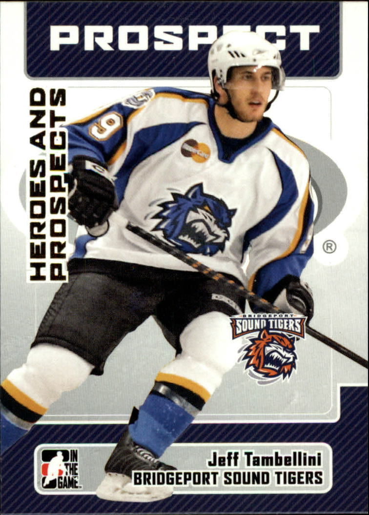 2006-07 ITG Heroes and Prospects #75 Jeff Tambellini
