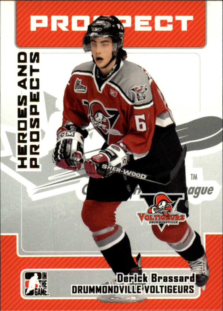 2006-07 ITG Heroes and Prospects #84 Derick Brassard