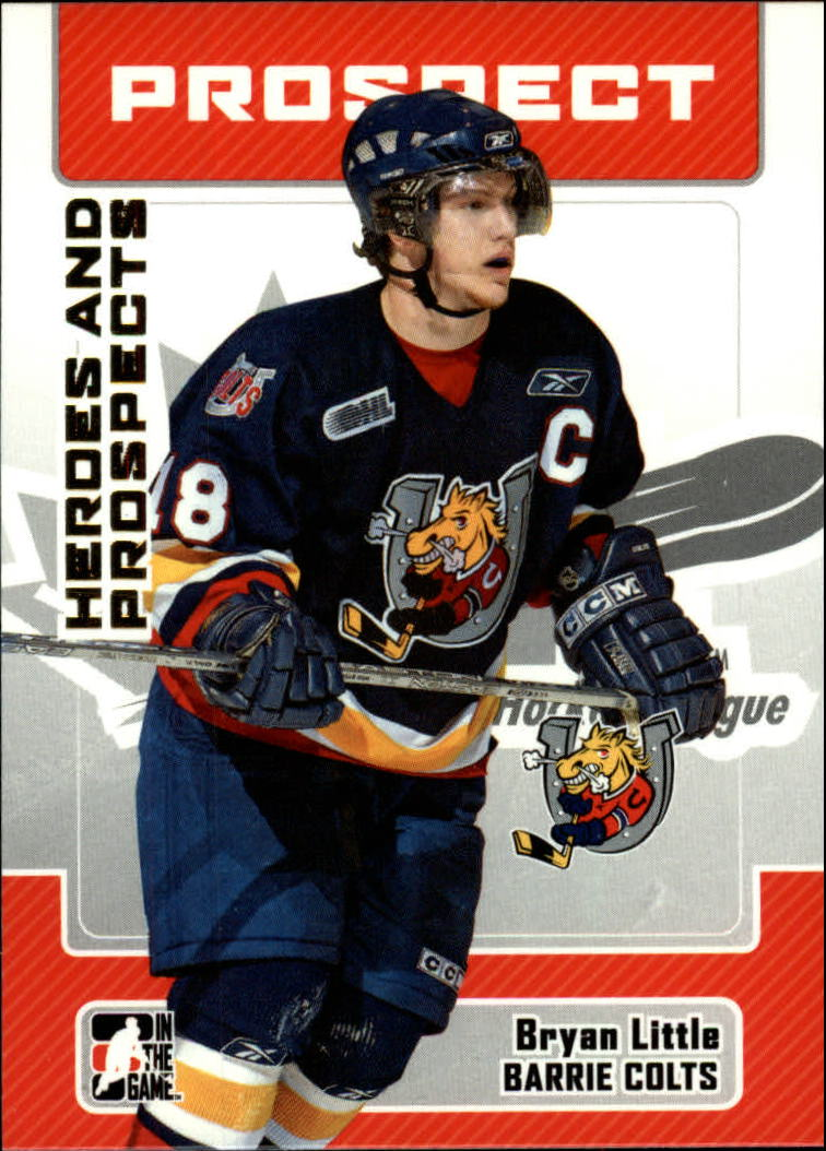 2006-07 ITG Heroes and Prospects #86 Bryan Little