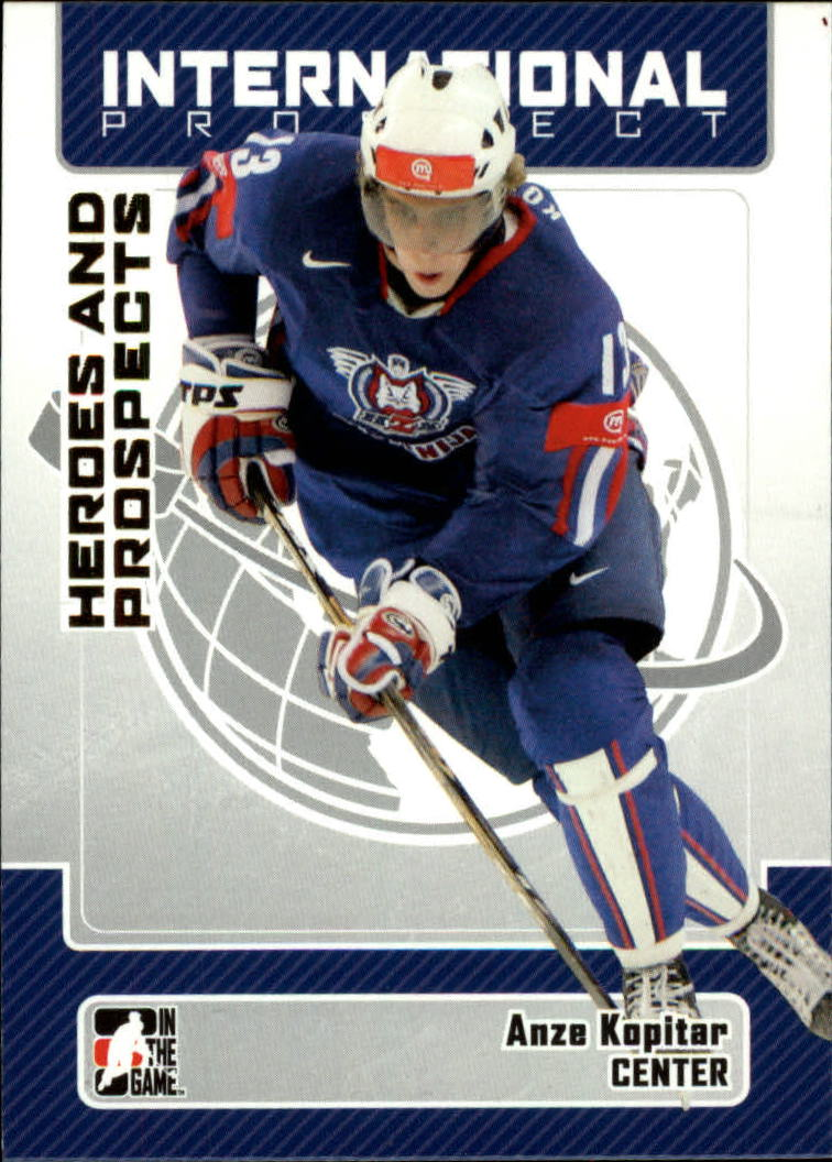 2006-07 ITG Heroes and Prospects #131 Anze Kopitar