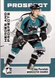 2006-07 ITG Heroes and Prospects #151 Joe Pavelski