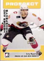 2006-07 ITG Heroes and Prospects #156 Eric Nystrom
