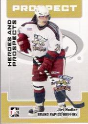 2006-07 ITG Heroes and Prospects #160 Jiri Hudler