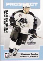 2006-07 ITG Heroes and Prospects #161 Alexander Radulov