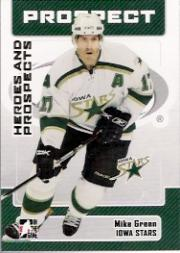 2006-07 ITG Heroes and Prospects #162 Mike Green