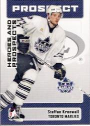 2006-07 ITG Heroes and Prospects #163 Staffan Kronwell