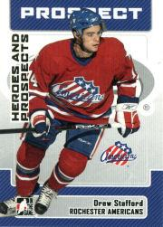 2006-07 ITG Heroes and Prospects #170 Drew Stafford