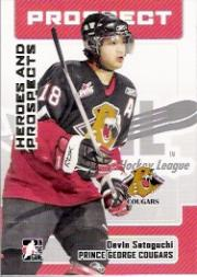 2006-07 ITG Heroes and Prospects #177 Devin Setoguchi