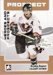 2006-07 ITG Heroes and Prospects #179 Brodie Dupont