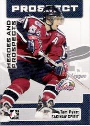 2006-07 ITG Heroes and Prospects #180 Tom Pyatt