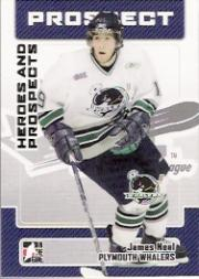 2006-07 ITG Heroes and Prospects #183 James Neal