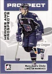 2006-07 ITG Heroes and Prospects #185 Marc-Andre Clich