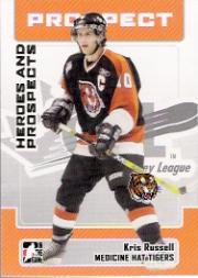 2006-07 ITG Heroes and Prospects #194 Kris Russell