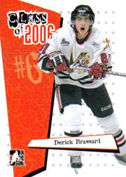 2006-07 ITG Heroes and Prospects Class of 2006 #CL03 Derick Brassard