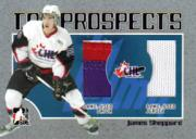 2006-07 ITG Heroes and Prospects CHL Top Prospects #TP09 James Sheppard