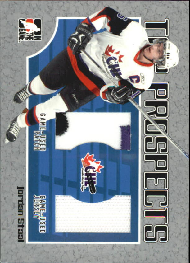 2006-07 ITG Heroes and Prospects CHL Top Prospects #TP11 Jordan Staal