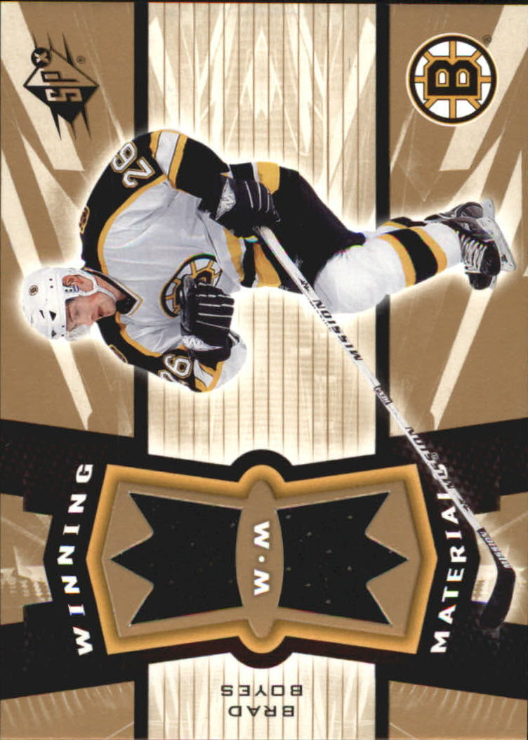 2006-07 SPx Winning Materials #WMBB Brad Boyes
