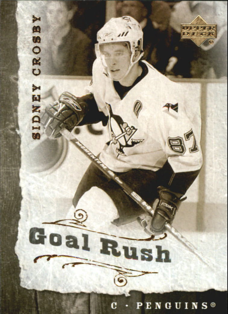 2006-07 Upper Deck Goal Rush #GR14 Sidney Crosby