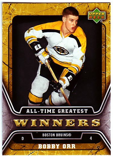 2006-07 Upper Deck All-Time Greatest #ATG3 Bobby Orr