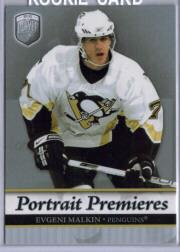 2006-07 Be A Player Portraits #103 Evgeni Malkin RC