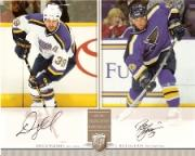 2006-07 Be A Player Portraits Dual Signature Portraits #DSWG Doug Weight/Bill Guerin