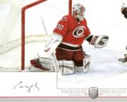 2006-07 Be A Player Portraits Signature Portraits #SPCW Cam Ward