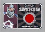 2006-07 O-Pee-Chee Swatches #SPR Patrick Roy