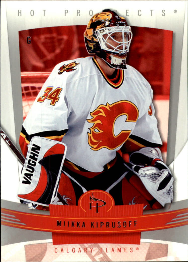 2006-07 Hot Prospects #18 Miikka Kiprusoff
