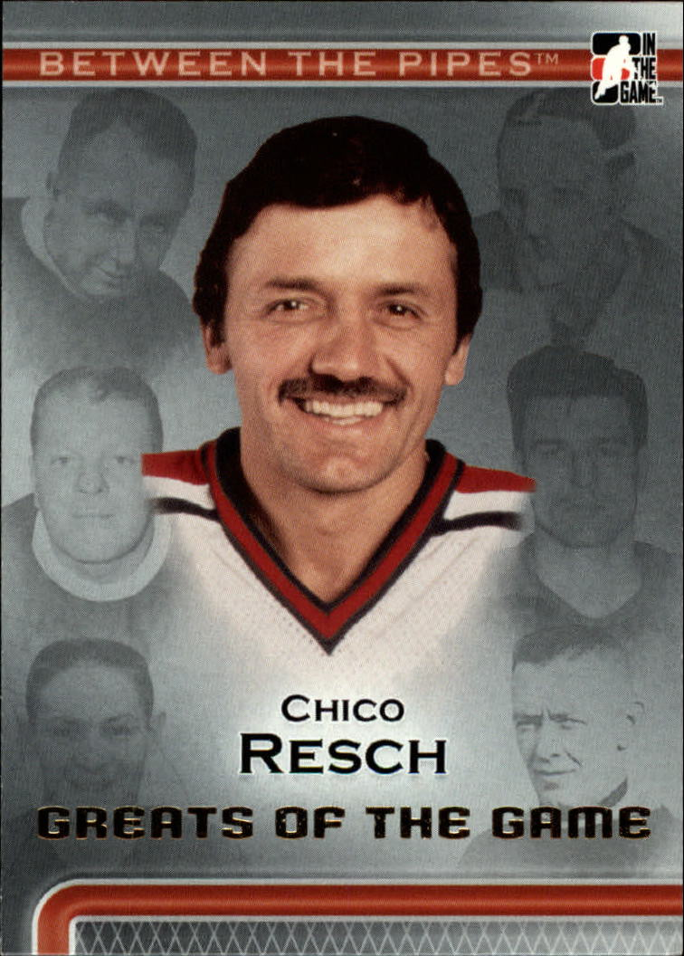 2006-07 Between The Pipes #83 Chico Resch