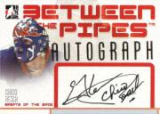 2006-07 Between The Pipes Autographs #ACR Chico Resch