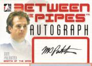 2006-07 Between The Pipes Autographs #AMP Mike Palmateer