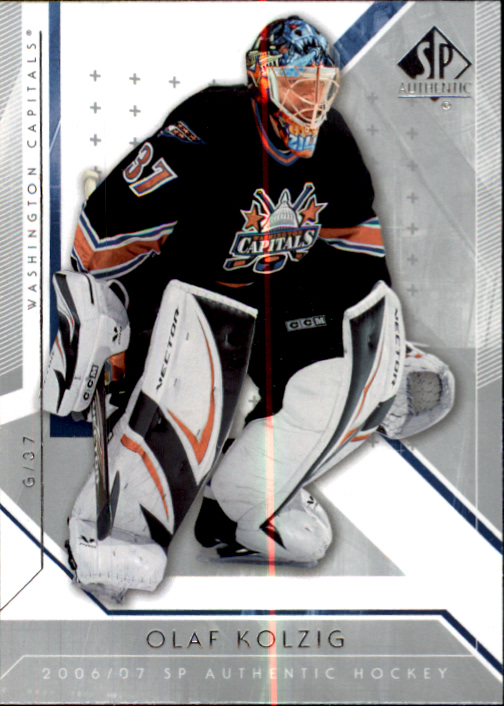 2006-07 SP Authentic #2 Olaf Kolzig