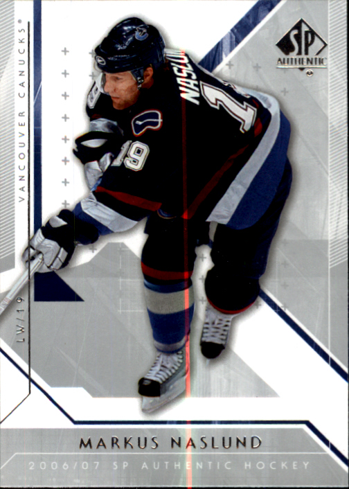 2006-07 SP Authentic #3 Markus Naslund