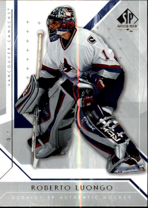 2006-07 SP Authentic #4 Roberto Luongo