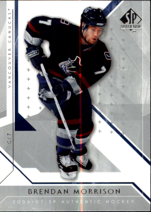 2006-07 SP Authentic #5 Brendan Morrison