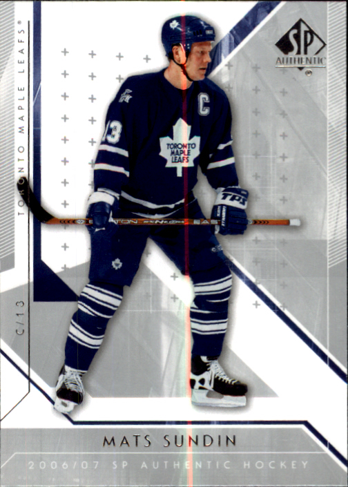 2006-07 SP Authentic #6 Mats Sundin