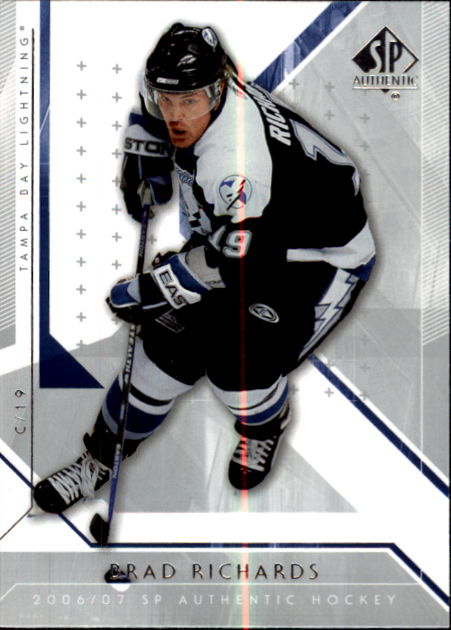 2006-07 SP Authentic #12 Brad Richards