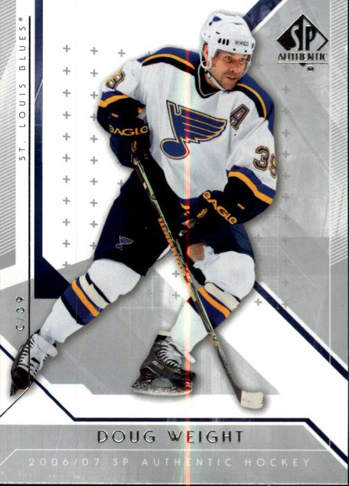 2006-07 SP Authentic #13 Doug Weight