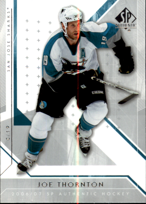 2006-07 SP Authentic #16 Joe Thornton