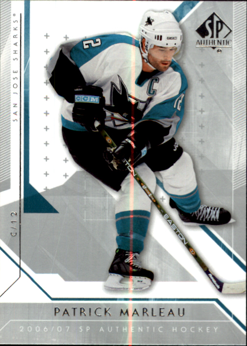 2006-07 SP Authentic #17 Patrick Marleau