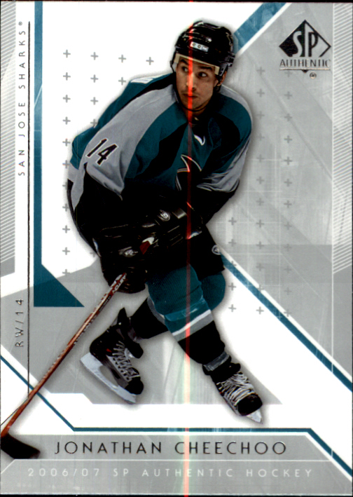 2006-07 SP Authentic #18 Jonathan Cheechoo