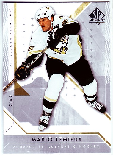 2006-07 SP Authentic #23 Mario Lemieux