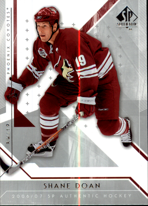 2006-07 SP Authentic #24 Shane Doan