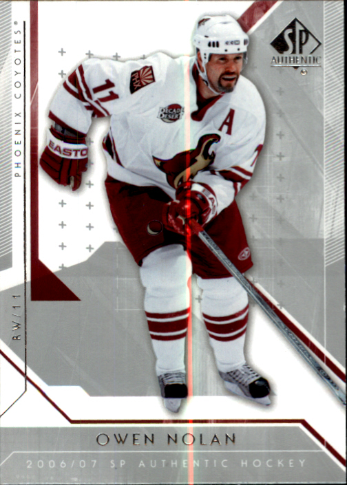 2006-07 SP Authentic #26 Owen Nolan